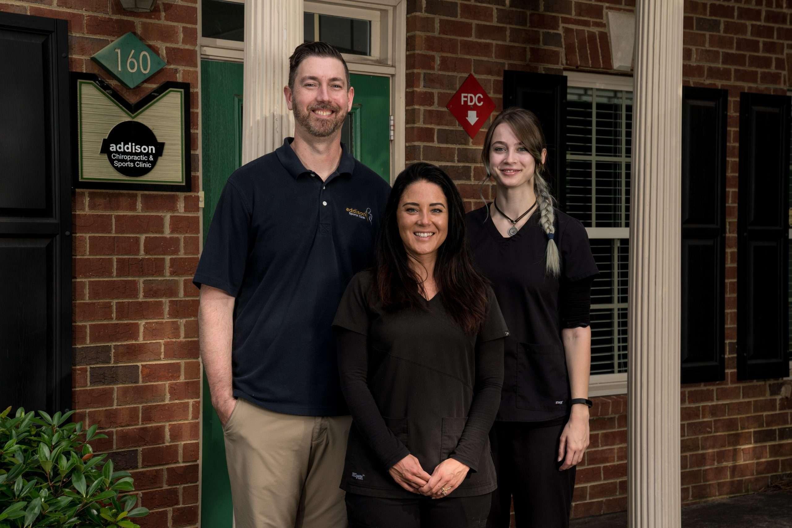 Addison Sports Clinic team